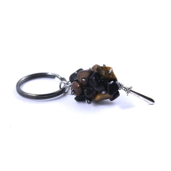 Onyx & Tigers Eye Key Holder - 54key